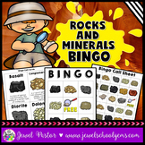 Rocks and Minerals Activities (Rocks and Minerals Bingo)