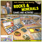 Rocks and Minerals Activity Package