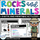 Rocks and Minerals  |  Presentation and Anchor Charts