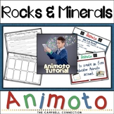 Rocks and Minerals Animoto Activity