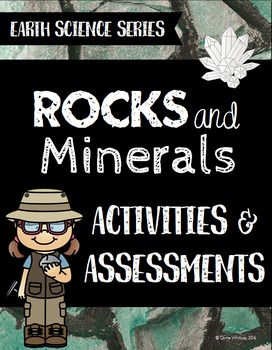 Rocks and Minerals Assessments and Activities - Earth Science Series