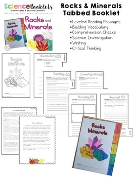 Exploring Rocks and Minerals: Investigate Types and Cycles (BUNDLE)