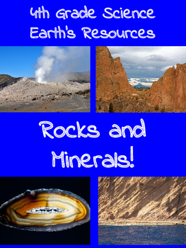 Rocks and Minerals BUNDLE