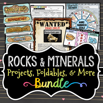 Rocks and Minerals - BUNDLE - Save Over 35%
