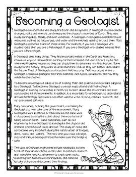 Rocks and Minerals: Becoming a Geologist