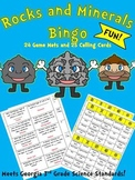 Rocks and Minerals Bingo! Fun Unit Review Game