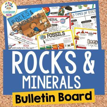Rocks and Minerals:  Bulletin Board Set