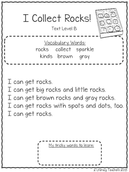 Rocks and Minerals: CCSS Aligned Leveled Reading Passages and Activities
