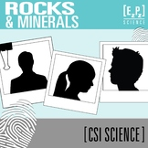 Rocks and Minerals CSI Science Mystery- Distance Learning