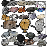 Rocks Clipart and Minerals Clipart