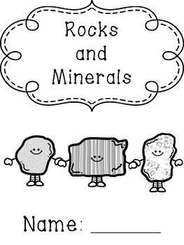 Rocks and Minerals Cover pages