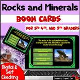 Rocks and Minerals Digital Boom Cards
