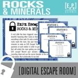 Rocks and Minerals Escape Room- Science Escape Room