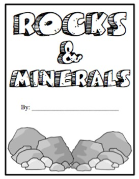 Rocks and Minerals- A Foldable!