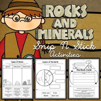 Rocks and Minerals Sort Activities