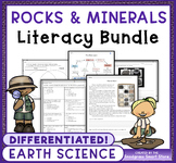 Rocks and Minerals: Science and Literacy Bundle