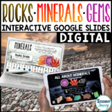Rocks and Minerals Google Classroom Distance Learning | In