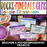 Rocks and Minerals Projects Google Classroom