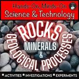ONTARIO SCIENCE: GRADE 4 ROCKS AND MINERALS CENTRES