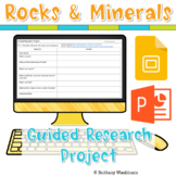 Rocks and Minerals Guided Research Project