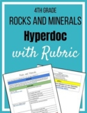 Rocks and Minerals Hyperdoc with Rubric
