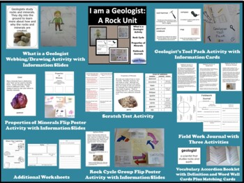 Rocks and Minerals:  I am a Geologist