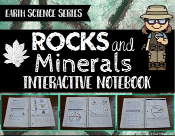 Rocks and Minerals Interactive Notebook - Earth Science Series
