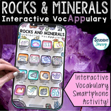 Rocks and Minerals Interactive VocAPPulary - Vocabulary Ap