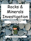 Rocks and Minerals Investigation: 2nd Grade Science