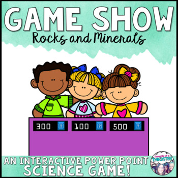 Rocks and Minerals Game Show