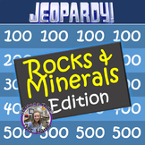Rocks and Minerals Jeopardy! Review game (Test prep, Practice)