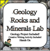 Rocks and Minerals Activity Geology Project