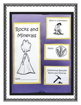 Rocks and Minerals Lapbook and Project