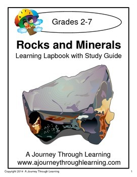 Rocks and Minerals Lapbook with Study Guide