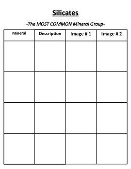 Rocks and Minerals: MINERAL QUIZ - Variety of Topics