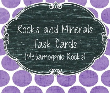 Rocks and Minerals (Metamorphic Rocks)