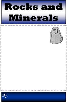 Rocks and Minerals Mini Booklet Answer Key MS Publisher Version