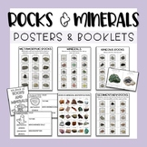 Rocks and Minerals Posters & Research Activity