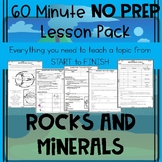 Rocks, Rock Cycle, and Minerals NO PREP Lesson
