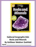 Rocks and Minerals (National Geographic Kids)