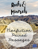 Rocks and Minerals Nonfiction Paired Passages
