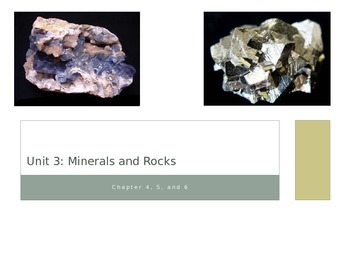 Rocks and Minerals Notes