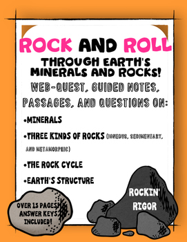 Rocks and Minerals Pack