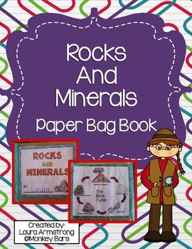 Rocks and Minerals Paper Bag Book