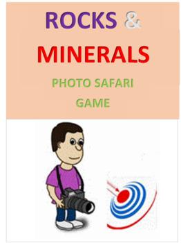 Rocks and Minerals Photo Safari Game