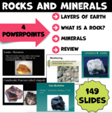 Rocks and Minerals PowerPoints Grade 6