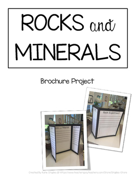 Rocks and Minerals Project - Earth Science Project