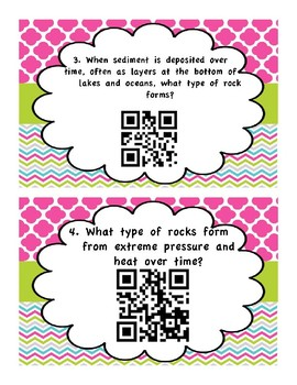 NGSS Aligned: Rocks and Minerals QR Code Activity