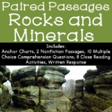 Rocks and Minerals Reading Comprehension Paired Passages