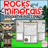 Rocks and Minerals Reading Passages